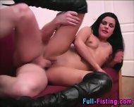 Fisted Teen Slut Facial - scene 6