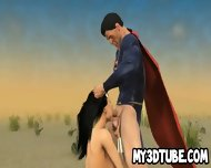 3d Wonder Woman Sucks Cock And Gets Fucked Outdoors - scene 6