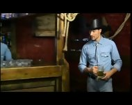 Gay Cowboys Sex In A Bar Pacific Sun - scene 10