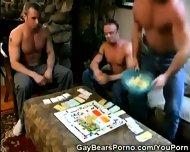 Hairy Muscled Men Getitng Feisty - scene 1