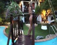 Naked And Wet Blonde Girl - scene 1