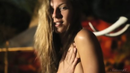 Naked And Wet Blonde Girl - scene 12