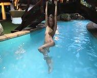 Naked And Wet Blonde Girl - scene 3