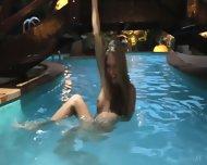 Naked And Wet Blonde Girl - scene 5