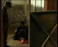 Fucked Hard In Army Jail Latin Hot - scene 1