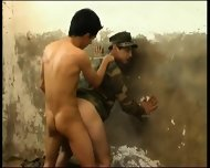 Fucked Hard In Army Jail Latin Hot - scene 8