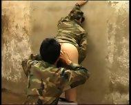 Fucked Hard In Army Jail Latin Hot - scene 3