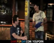 Bartender Gets His Cock Sucked And Ass Fucked - scene 5