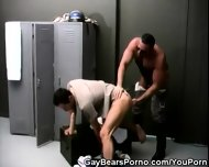 Bear Cops Fucking In The Locker Room - scene 4