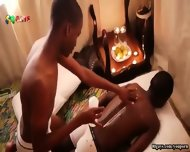 African Oil Massage 1 - scene 1
