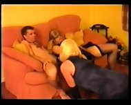 Satin Tv Party 1 - scene 10