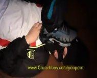 Tony Rekins Acteur Porno Tbm De Crunchboy Avec Une Queue Enorme De 22 Cm Trip Sneaker Latex - scene 6