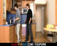 Straight Plumber Takes His Horny Cock Right On The Floor - scene 3