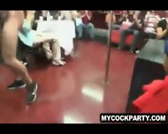 Stripper Teases And Sits On A Party Goers Face - scene 11