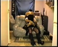 White Satin Blouse Fuk 1 - scene 4
