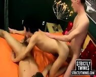 Young Twinks With Beautiful Bodies Do A Threesome - scene 5