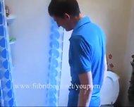 Shower Wank - scene 1