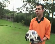 Too Curious For Soccer - scene 6