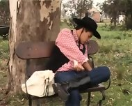 Latin Cowboys Get It On Latin Hot - scene 1