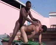 Monster Cock Fucking Outdoors - scene 7