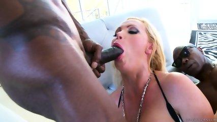 Busty MILF Fucked By Two Black Dick - scene 7