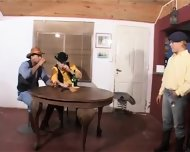 Latin Cowboys Hot Threeway Latin Hot - scene 1