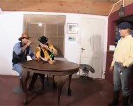 Latin Cowboys Hot Threeway Latin Hot - scene 1