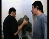 Mature Man Surprises The Repair Man Latin Hot - scene 5