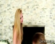 Perv Shows No Respect When Pounding A Sweet Blonde Teen - scene 2