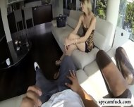 Cute Tall Girl Gets Fucked And Jizzed On Caught On Spy Cam - scene 2