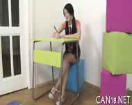 Horny Awakening For Cute Babe - scene 3