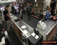 College Student Pawned Her Books And Banged In The Pawnshop - scene 1