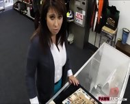 Big Tits Milf Selling Her Husbands Old Coins To Raised Money - scene 2