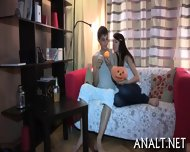 Lusty Rear Pummeling For Sweet Teen - scene 1