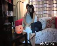 Lusty Rear Pummeling For Sweet Teen - scene 2