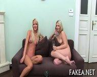 Creampie On Sweet Babes Tits - scene 1