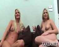 Creampie On Sweet Babes Tits - scene 2