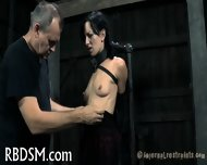 Tied Up Tits With Toy Pleasuring - scene 8