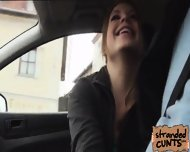 Alessadra S Nice Handjob And Nice Blow While Dude Was Driving - scene 1