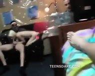 Petite Blonde Teen Girlfriend Party Oral - scene 2