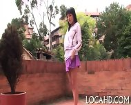 Shaved Tight Pussy Is Hammered - scene 5