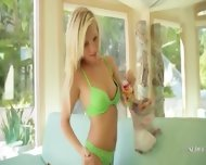 Green Panties And Green Toy - scene 4