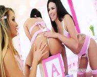 Three Exclusive Teen Anal Girlsongirls - scene 2