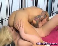 Tattooed Masseuse Licks - scene 10