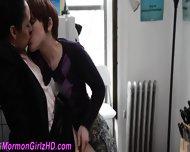 Mormon Lesbian Eaten Out - scene 8