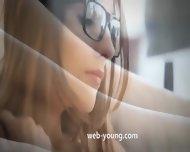 Fluent Brunette With Glasses - scene 2