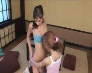 Ultra Skinny Girl4girl Eating Pussies - scene 7