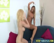 Lezbo Teen Licks Step Sis - scene 1