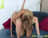 Lezbo Teen Licks Step Sis - scene 8