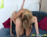 Lezbo Teen Licks Step Sis - scene 8